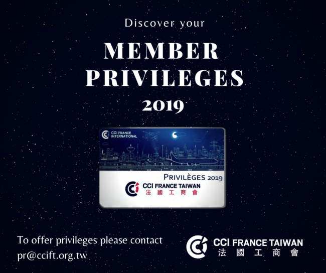 Why become a member? | CCI France Taiwan